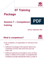 Session7 Competence & Training