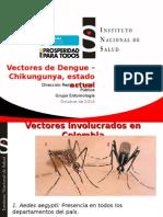 Presentacion Vectores Dengue CHK
