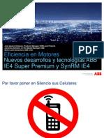 ABB; Eficiencia en Motores - Nuevos Desarrollos y Tecnologias