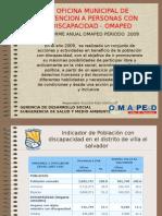Presentacion de Informe OMAPED 2009