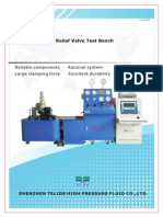 Telide Safety Valve Test Bench Product Brochure