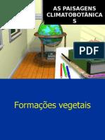 Vegetaçao Mundial e Do Brasil