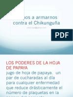 Armas Contra El Chikunguña