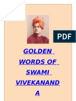 GOLDEN WORDS- Swami Vivekanand
