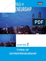 Chapter 2 Types of Entrepreneurship