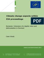 CC EIA Case Study Romania