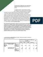 Explicarea tabelelor de statistica descriptiva