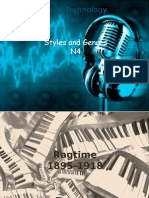 n4 styles and genres no audio