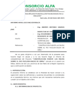 Informe de Compatibilidad de Obra