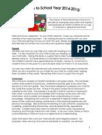 parent info packet 2014-2015