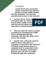 firewalls and proxies