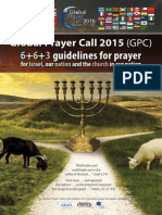 Global Prayer Guide 2015 (GPC)
