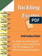 Tackling Essay Questions