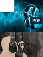 n5 styles and genres no audio
