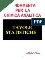 Tavole statistiche
