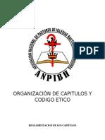 Organizaciu00d3n de Capitulos y Codigo Etico