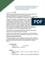 FAMILIAS IDENTIFICADAS DE ARACNIDOS PARA LAS LOCALIDADES DE CRUZPATA.docx