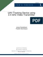 UAV Tracking System