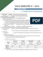 # Check List for OSCE 2014