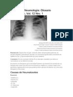 Revista de Neumología