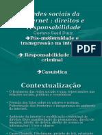 Redes Sociais e Responsabilidade