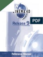 Maxon Cinema 4D r9 Manual