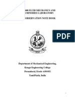 Fluid Mechanics and Machinery(1)