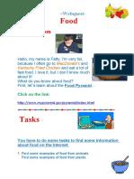 Webquest on Food Doc