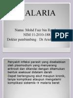 faiz-malaria.ppt
