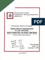 Dynamic Reservoir Characterization