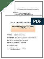 imforme de quimica analitica