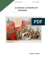 El marxismo-leninismo y la dictadura del proletariado