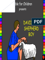 David the Shepherd Boy English