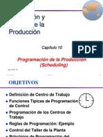 Programacion de La Produccion