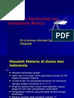 Diagnosis Patofisiologi Pengobatan Malaria