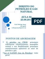 Direito Do Petróleo e Gás Natural - Aula 2 - 23.08.2014