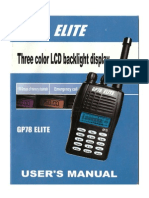 Manual Gp78 Elite