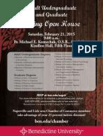 Benedictine University Open House
