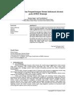 Perencanaan dan Pengembangan Sistem Informasi Absensi pada DPRD Mamuju