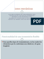 Transmisiones mecánicas