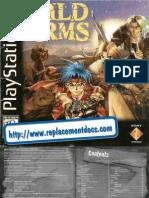 Wild Arms - Manual - PSX
