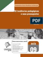 Fasciculo_09.PDF Tedências Pedagógicas