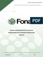 Manual Configuracion Del Ata Gxw4104