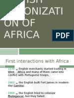 British Colonisation of Africa
