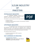 Petroleum Industry of Pakistan