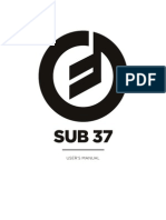 Sub 37 Web Manual