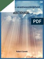 Genade & Verantwoordelijkheid (recensie) - R. Govett