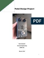 Fuzz Pedal Design Project