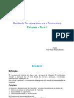 Adm Materiais - Apostila 04 - 2B - Estoques 1.pdf