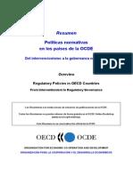 Del Intervencionismo a La Gobernanza Normativa OCDE